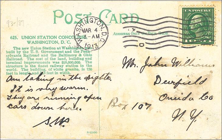 woodrow-wilson-inauguration-postcard