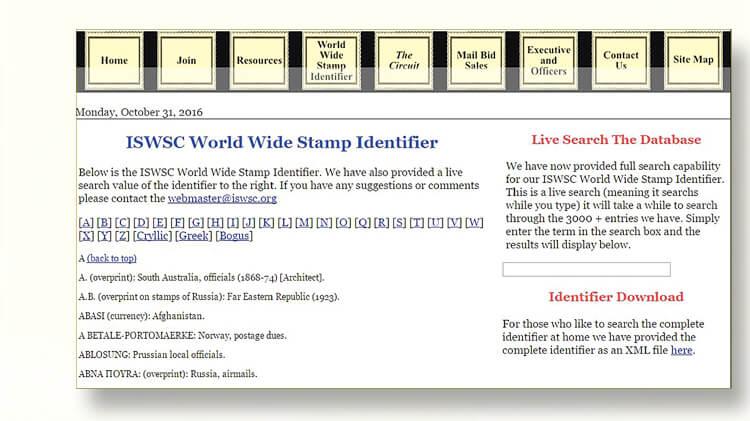 world-wide-stamp-identifier