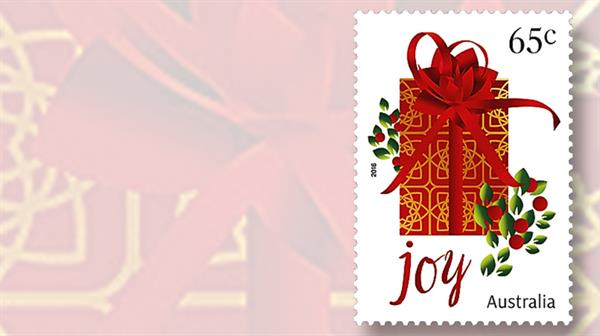 wrapped-present-stamp-australia