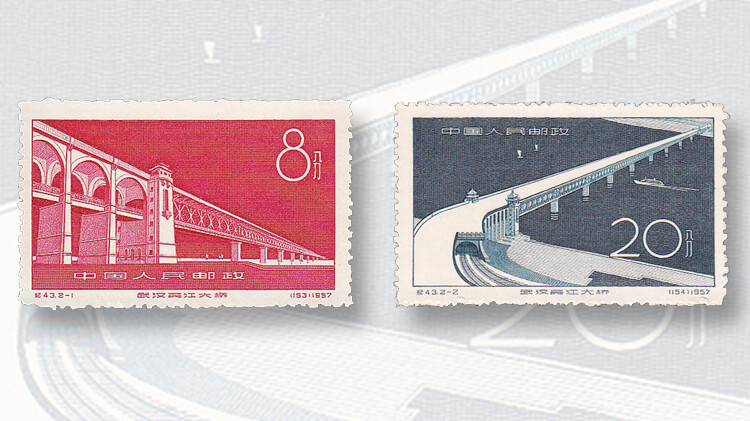 yangtze-river-bridge-stamps