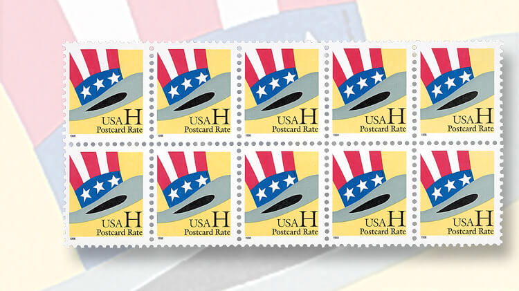 yellow-hat-nondenominated-stamps