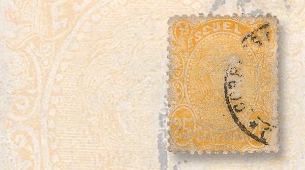 yellow-stamps-venezuela-scott-60