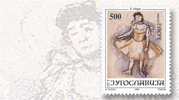 yugoslavia-joy-europe-stamp