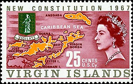 Postal abbreviation for the virgin islands