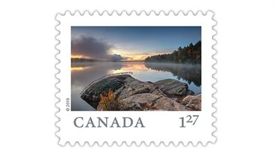 Canada Far and Wide stamp 127 rate to United States