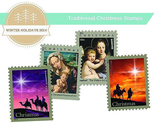 Usps Christmas Stamps.Usps Promotes Christmas Stamps On Social Media