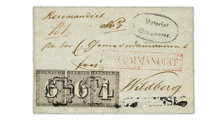 zurich-switzerland-wildberg-1844-registered-cover